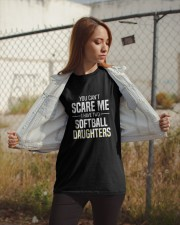 SOFTBALL TWO DAUGHTER Classic T-Shirt apparel-classic-tshirt-lifestyle-07