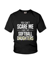 SOFTBALL TWO DAUGHTER Youth T-Shirt thumbnail