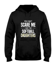SOFTBALL TWO DAUGHTER Hooded Sweatshirt thumbnail