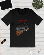UKULELE NOUN Classic T-Shirt lifestyle-mens-crewneck-front-17