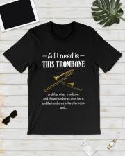 ALL I NEED TROMBONE Classic T-Shirt lifestyle-mens-crewneck-front-17