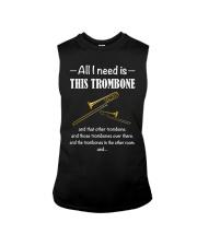 ALL I NEED TROMBONE Sleeveless Tee thumbnail
