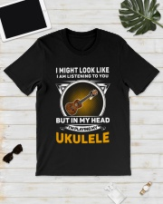 IN MY HEART UKULELE Classic T-Shirt lifestyle-mens-crewneck-front-17
