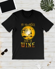 BROOMSTICK WINE Classic T-Shirt lifestyle-mens-crewneck-front-17