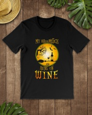 BROOMSTICK WINE Classic T-Shirt lifestyle-mens-crewneck-front-18