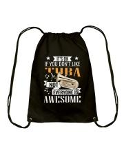 TUBA AWESOME Drawstring Bag thumbnail