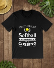 SOFTBALL CUSSING Classic T-Shirt lifestyle-mens-crewneck-front-18