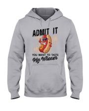 CAMPING MY WIENER Hooded Sweatshirt thumbnail