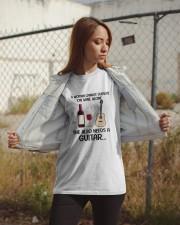 WINE ALONE NEEDS GUITAR Classic T-Shirt apparel-classic-tshirt-lifestyle-07