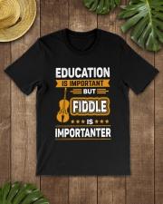 EDUCATION FIDDLE Classic T-Shirt lifestyle-mens-crewneck-front-18