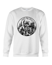 I EAT PEOPLE CAMPING Crewneck Sweatshirt tile