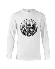 I EAT PEOPLE CAMPING Long Sleeve Tee tile