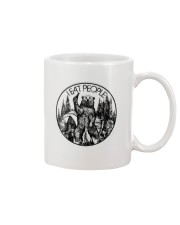 I EAT PEOPLE CAMPING Mug tile