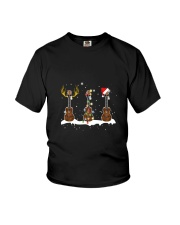 THREE CHRISTMAS UKULELE Youth T-Shirt thumbnail