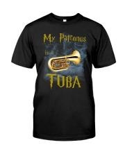 MY PATRONUS IS A TUBA Classic T-Shirt front