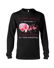 CAMPING FRIENDS CRAZY Long Sleeve Tee thumbnail