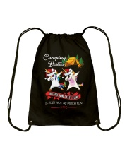 CAMPING BESTIES  Drawstring Bag thumbnail