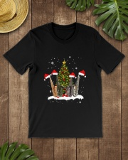 TREE CHRISTMAS SAXOPHONE Classic T-Shirt lifestyle-mens-crewneck-front-18