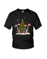 TREE CHRISTMAS SAXOPHONE Youth T-Shirt tile