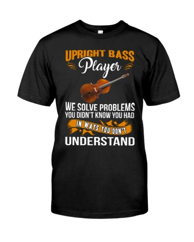UPRIGHT BASS PLAYER SOLVE PROBLEMS
