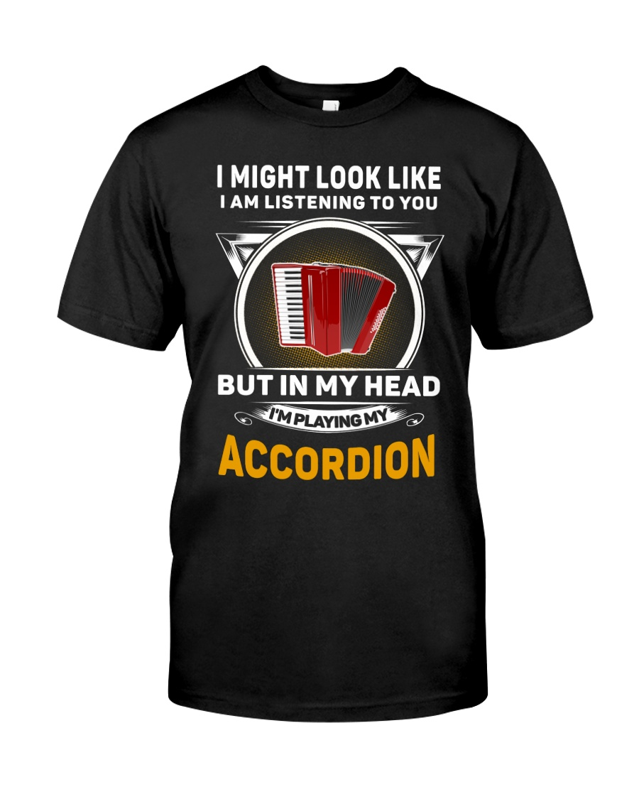 IN MY HEART ACCORDION  Classic T-Shirt