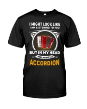 IN MY HEART ACCORDION  Classic T-Shirt front