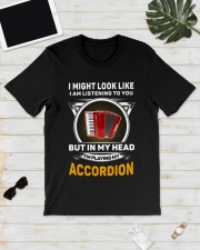 IN MY HEART ACCORDION  Classic T-Shirt lifestyle-mens-crewneck-front-17