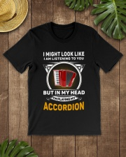 IN MY HEART ACCORDION  Classic T-Shirt lifestyle-mens-crewneck-front-18