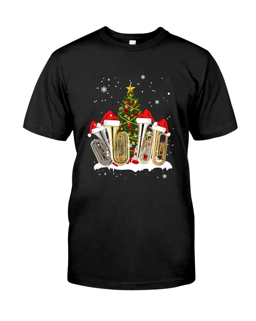 TREE CHRISTMAS TUBA Classic T-Shirt