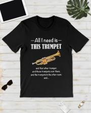 ALL I NEED TRUMPET Classic T-Shirt lifestyle-mens-crewneck-front-17