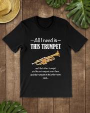 ALL I NEED TRUMPET Classic T-Shirt lifestyle-mens-crewneck-front-18