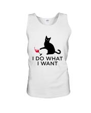 WINE CAT DO WANT Unisex Tank thumbnail