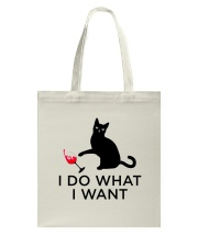 WINE CAT DO WANT Tote Bag thumbnail