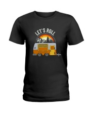 CAMPING LET ROLL Ladies T-Shirt thumbnail