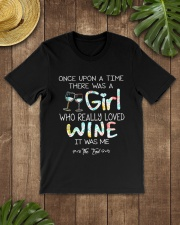 GIRL LOVE WINE Classic T-Shirt lifestyle-mens-crewneck-front-18
