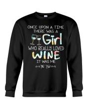 GIRL LOVE WINE Crewneck Sweatshirt thumbnail