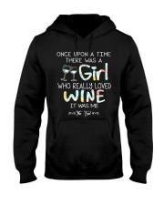 GIRL LOVE WINE Hooded Sweatshirt thumbnail