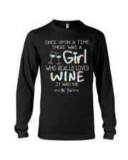 GIRL LOVE WINE Long Sleeve Tee thumbnail