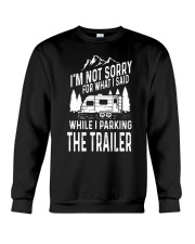 PARKING THE TRAILER Crewneck Sweatshirt thumbnail