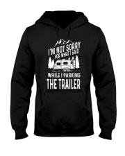 PARKING THE TRAILER Hooded Sweatshirt thumbnail