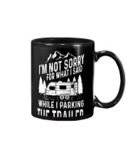 PARKING THE TRAILER Mug thumbnail