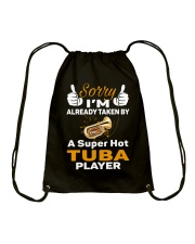 SUPER HOT TUBA Drawstring Bag thumbnail