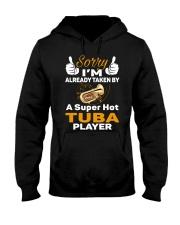 SUPER HOT TUBA Hooded Sweatshirt thumbnail