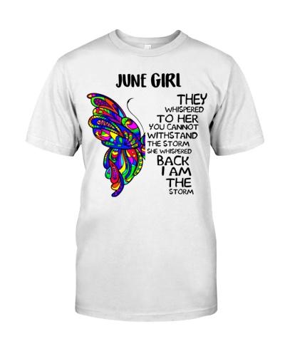 June GIRL - SHE WHISPERED BACK I AM THE STORM