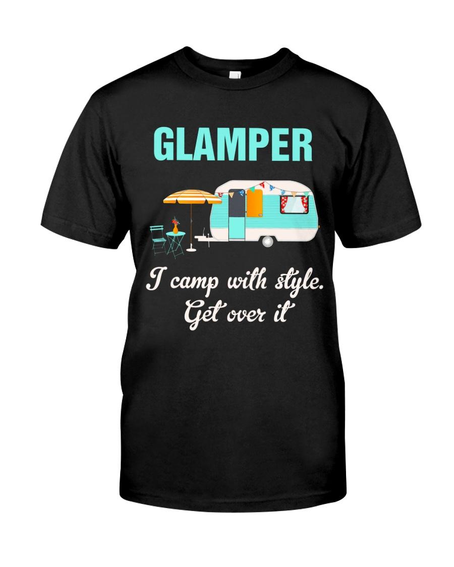GLAMPER CAMPING Classic T-Shirt