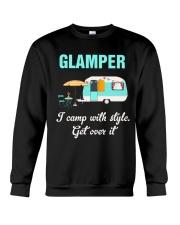 GLAMPER CAMPING Crewneck Sweatshirt thumbnail