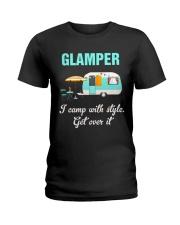 GLAMPER CAMPING Ladies T-Shirt thumbnail