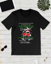 WINE FLOW Classic T-Shirt lifestyle-mens-crewneck-front-17