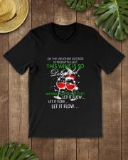 WINE FLOW Classic T-Shirt lifestyle-mens-crewneck-front-18