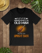 OLD MAN WITH AN UPRIGHT BASS Classic T-Shirt lifestyle-mens-crewneck-front-18